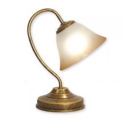 Lampka stołowa Lemir Lotos złoty 288/L1 MAL