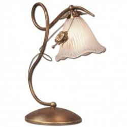 Lampka biurkowa Lis Alicja miedź 0938B