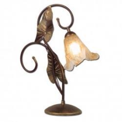 Lampka biurkowa Lis Anturium miedź 0031B