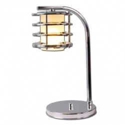 Lampka biurkowa Lis Efes srebrna 1885B
