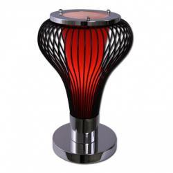 Lampka stołowa Lis Pera czerwona 2162B C