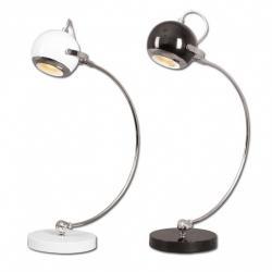 Lampka biurkowa Lis Ruffi biała 1252B B