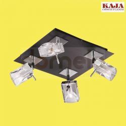 Plafon Kaja K-MA01913C-4 czarny chrom...