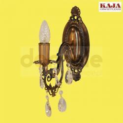 Kinkiet Kaja K-1512 kryształ patyna...