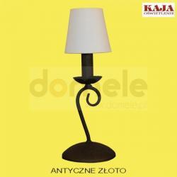 Lampa stołowa Kaja K-1654 antyczne złoto...