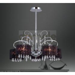 Lampa wisząca kryształowy Italux Rico 5 x 60W...