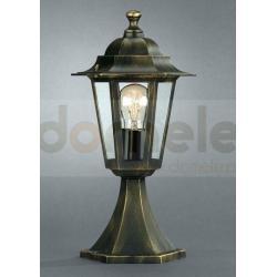 Lampa ogrodowa stojąca Massive Peking antyczne złoto...