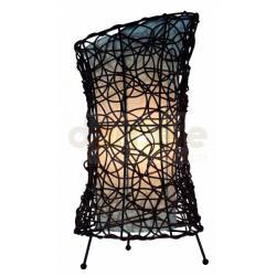 Lampka nocna stołowa Reality Ruth E27 60W wiklinowa...