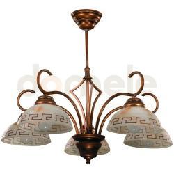 Lampa wisząca Aldex Rodos 5 x 60W...