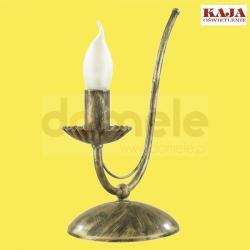 Lampa stołowa Kaja Gotyk K-848 czarny patyna...