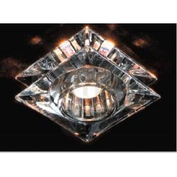 Oprawa halogenowa Italux Oczko szklane GU4 kwadratowa 1 x 35W...