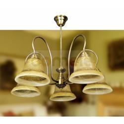 Lampa wisząca Italux Belinda 5 x 60W...