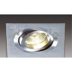 Oprawa halogenowa Italux Downlights GU5,3 35W metal szczotkowany...