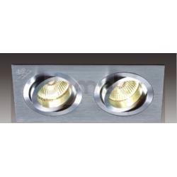 Oprawa halogenowa Italux Downlights GU5,3 2 x 35W metal szczotkowany...