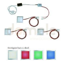 Zestaw opraw meblowych LED Elgo Unilum 13 światło ciepłe białe...