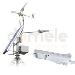 Zewnętrzny zestaw oświetleniowy LED z zasilaniem hybrydowym Elgo SUNWIND 10