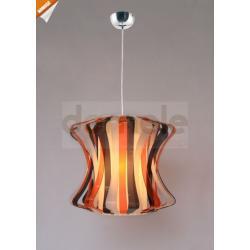 Lampa wisząca Italux Stiamo 1 x E27 multikolor