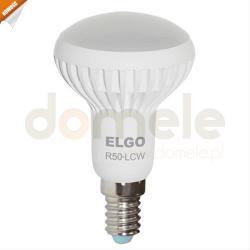 Żarówka 36 LED SMD Elgo R50-LCW 3W 190 lm 2800 - 3500 K obudowa biała