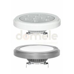 Oprawa LED Brilux AR111-G53 w.1P 11W 3000 cd obudowa biała