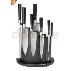 Zestaw noży kuchennych Damast Black