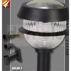 Lampa ogrodowa solarna LED Rum-Lux SOLAR-2...