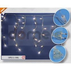 Lampki choinkowe wewnętrzne Rum-Lux Sople LWS-100G