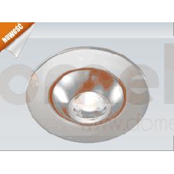 Lampa sufitowa wpuszczana LED Elkim 1x1W LDC024