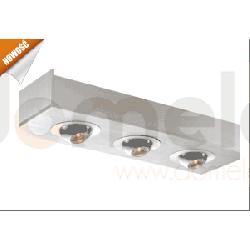 Lampa sufitowa natynkowa LED Elkim 3x3W 3200/6000K LDC403...