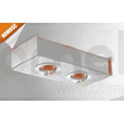 Lampa sufitowa natynkowa LED Elkim 2x3W 3200/6000K LDC402...