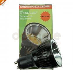 Żarówka ECO-LED Multichip LED GU10 120st barwa biała ciepła 400 lm...