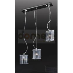 Lampa wisząca Italux Crystal X 3 x 40W...