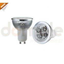 Żarówka LED Allando GU10 4W barwa biała ciepła...
