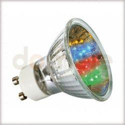 Żarówka LED Paulmann Multicolor (7 barw) 1W GU10 28013...
