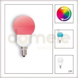 Żarówka LED Paulmann Globe 60 Multicolor (7 barw) 1W E14 28021...