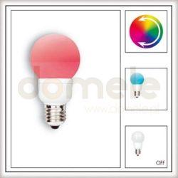 Żarówka LED Paulmann Globe 60 Multicolor (7 barw) 1W E27 28020...