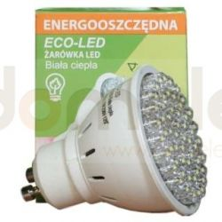 Żarówka 54 LED Eco-Led GU10 60st biała 250lm 1318...
