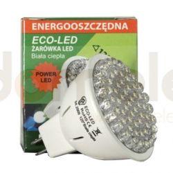Żarówka 60 LED Eco-Led POWERLED JCDR 120st ciepła 250lm 0304...