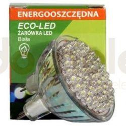 Żarówka 60 LED Eco-Led 12V MR16 60st biała 150lm 9666...