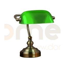 Lampa stołowa LampGustaf Bankers mała patyna/zielony 221722...