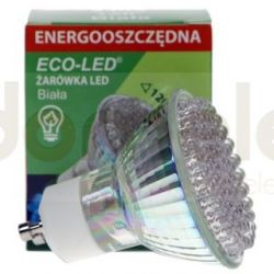 Żarówka 80 LED Eco-Led GU10 120st Biała 160lm...