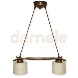 Lampa wisząca Lemir Kwazar brązowa O1102/W2 BR...