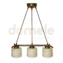 Lampa wisząca Lemir Kwazar brązowa O1103L/W3 BR...