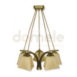 Lampa wisząca Lemir Lori oliwkowa O1405 OLM...