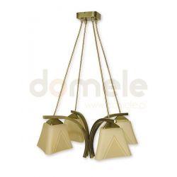 Lampa wisząca Lemir Lori oliwkowa O1404 OLM...