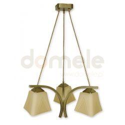 Lampa wisząca Lemir Lori oliwkowa O1403 OLM...