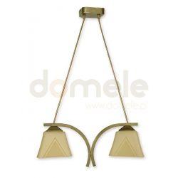 Lampa wisząca Lemir Lori oliwkowa O1402 OLM...