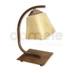 Lampa stołowa Lemir Lori brązowa O1408 BR...