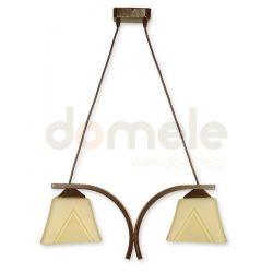 Lampa wisząca Lemir Lori brązowa O1402 BR ...