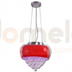 Lampa wisząca LED Lis Casino czerwona 2092Z...