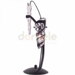 Lampka biurkowa Lis Samba czarny chrom 1043B...